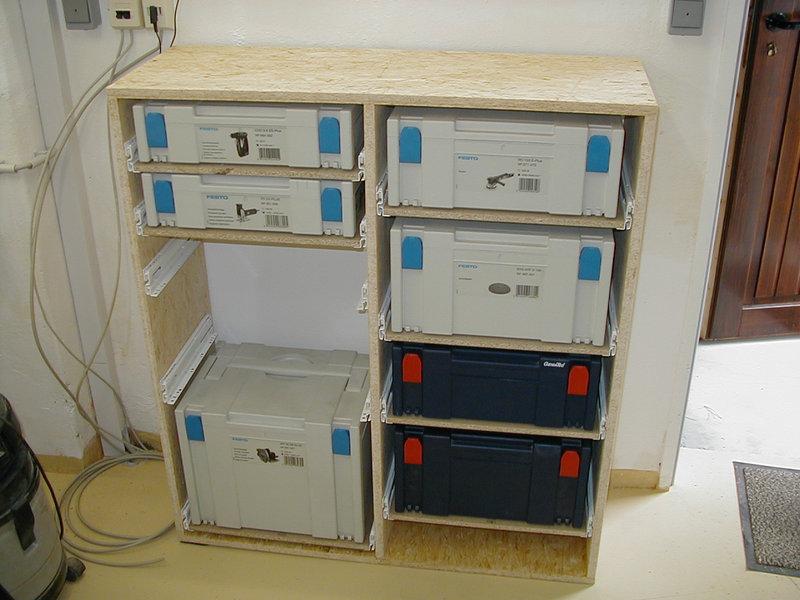 Bau eines Systainerschranks - Schulze Modellbau