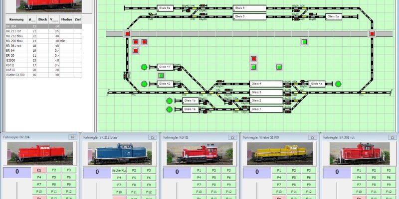 Digitale Modellbahnsteuerung mit Rocrail