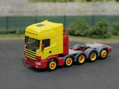 Scania 5achs Zugmaschine mit Nachlaufachse