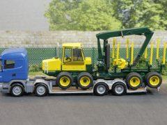 Forstmaschinen-Transporter