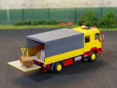 MAN Fahrzeug für Materialnachschub