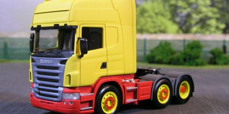 Scania  3achs Zugmaschine