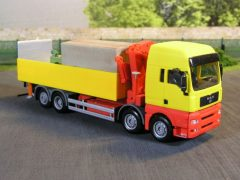 MAN TGA XXL für Maschinentransporte
