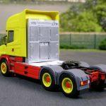 Scania Hauber 3achs Zugmaschine mit Staukästen