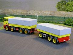 MAN TGA-M als Transportfahrzeug für Gewichte