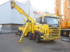 Bergefahrzeug auf Scania Fahrgestell