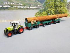 Ungewöhnlicher Rohrtransport