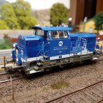 Umbau einer PIKO G6 Rangierlokomotive