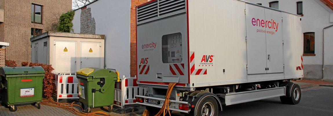 430 kVA Netzersatzanlage