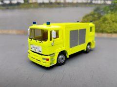 2-Richtungs-Feuerwehrfahrzeug in gelber Farbgebung