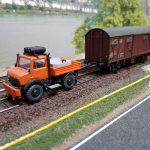 Geisterwagen für 2-Wege-Unimog