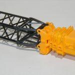 Feste Gitterspitze für kibri-Kran LTM1400