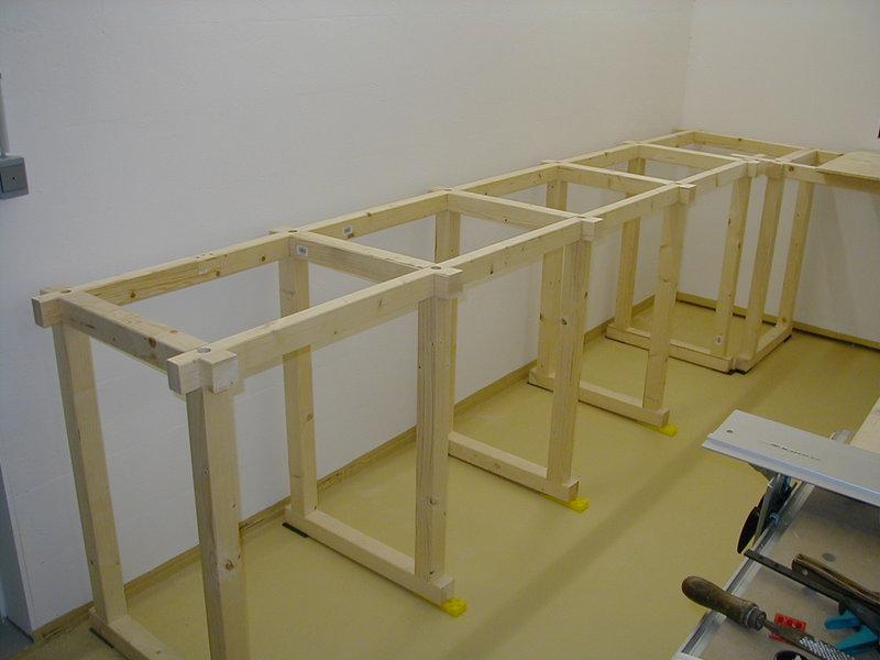 Favorit Bau einer großen Werkbank - Schulze Modellbau WI92