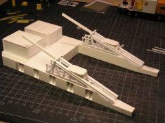 Bau des ALMA-Teleskoptransporters