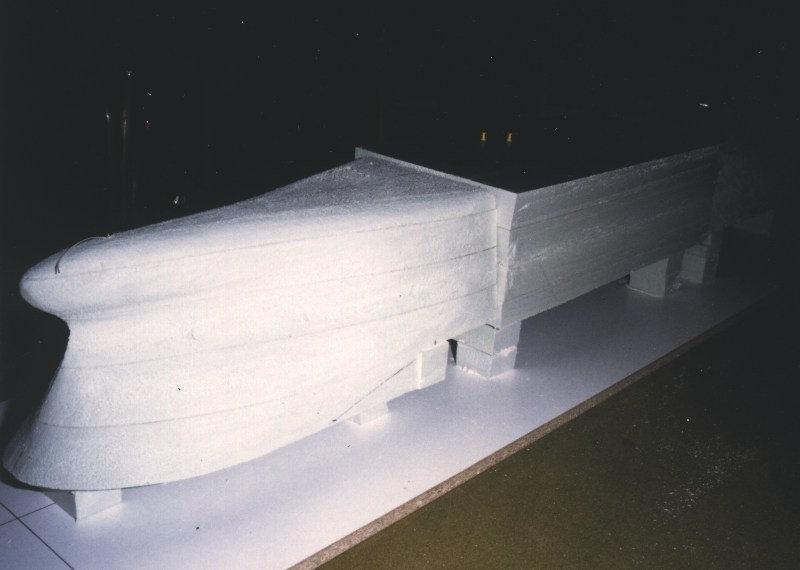 Beliebt Containerschiff Monte Rosa - Rumpfbau - Schulze Modellbau WL26