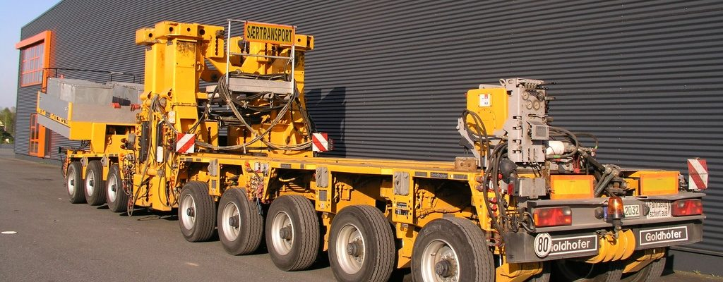 Goldhofer WKA-Masttransporter