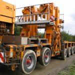 Goldhofer WKA-Masttransporter von Schaumann