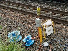 Signal- und Warngeräte für Gleisbaustellen