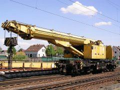 Kirow Gleisbauschienenkran KRC 810 T