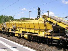 Plasser & Theurer Materialförder- und Siloeinheit MFS-100