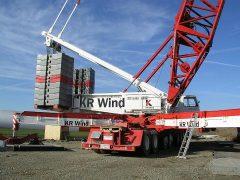 Liebherr LG1550 von KR Wind