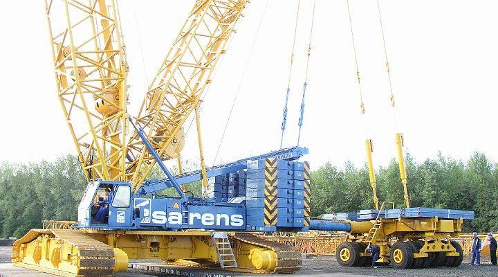 Liebherr LR1400/2 von Sarens