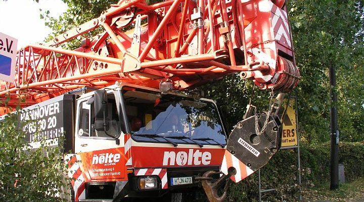 Liebherr LTM1160 von Nolte