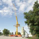 Grove GTK1100 von Wiesbauer bei Tests in Heilbronn