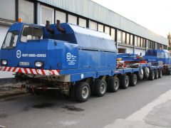 Scheuerle LS 250 (Heuler) Transformatorentransport