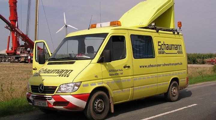 Begleitfahrzeug BF3 von Schaumann