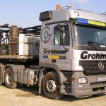 Mercedes Zugmaschinen von Grohmann
