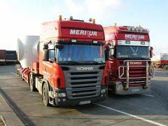 Scania Zugmaschinen von Merkur