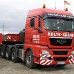 MAN TGX 4-achs Zugmaschine von Nolte