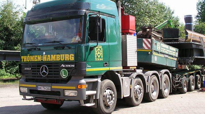 Mercedes Actros 4-achs Zugmaschine von Thömen