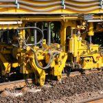 Gleisbau Weetzen-Ronnenberg - Stopfen des Schotters