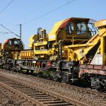 Gleisbau Weetzen-Ronnenberg - Materialtransport