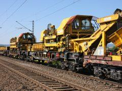 Gleisbau Weetzen-Ronnenberg – Materialtransport