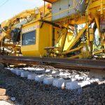 Gleisbau Weetzen-Ronnenberg - Schwellen- und Schienentausch