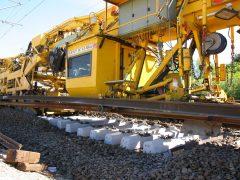 Gleisbau Weetzen-Ronnenberg – Schwellen- und Schienentausch