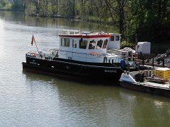 Arbeitsschiff Barne des WSA Braunschweig