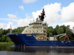Offshore Tug Supply Ship Freja