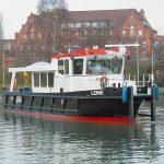 Arbeitsschiff Leine des WSA Braunschweig