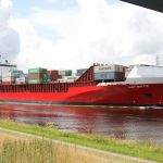 Containerschiff Navi Baltic