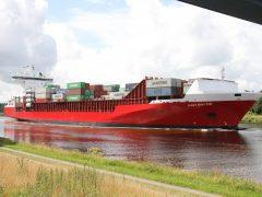 Containerschiff Navi Baltic